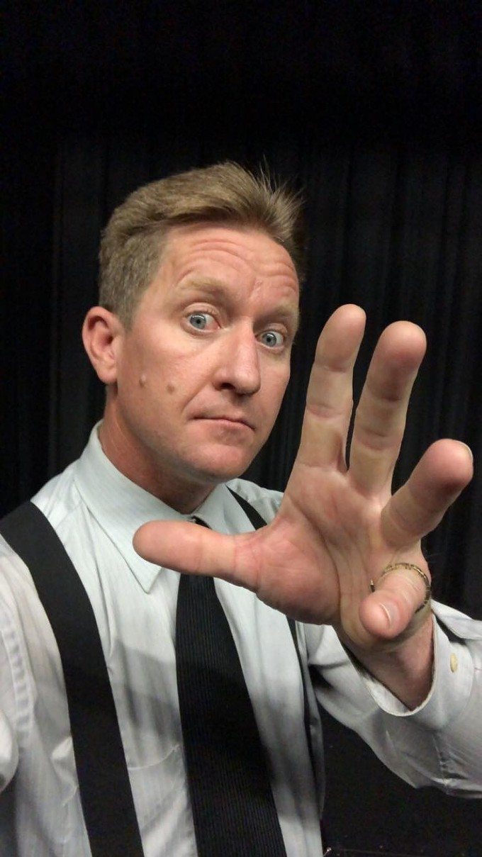 Rod Housley magically turns mystery into comedy at the O. - ROD WAYNE HOUSLEY ON FACEBOOK