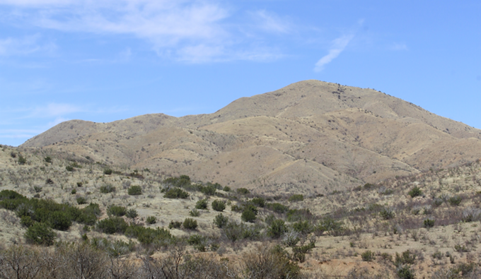 The Santa Rita Mountains, where the proposed Rosemont Mine is planned. - JEFF GARDNER