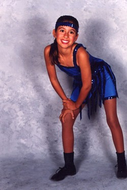 Kid-dancer Megan. - PHOTO BY JILL MALTOS