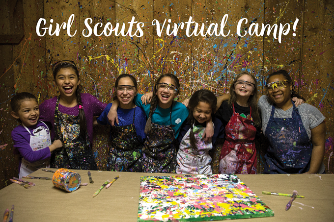Girl Scouts Virtual Camp - COURTESY PHOTO