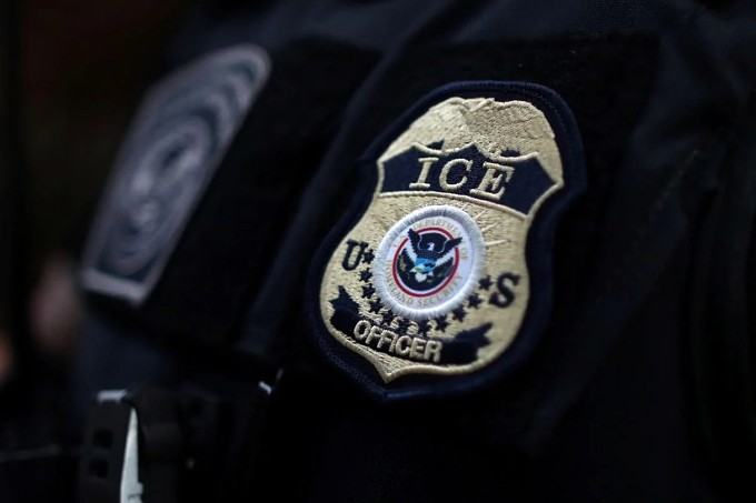 ICE officers in Hawthorne, California, on March 1. (Lucy Nicholson/Reuters) - PROPUBLICA