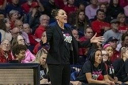 UA women's basketball coach Adia Barnes was one of the speakers scheduled for the Women's Foundation of Southern Arizona luncheon this week. Barnes will still be speaking via video for the virtual fundraiser that has moved online. - NOELLE HARO-GOMEZ