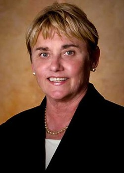 """Pima County Supervisor Sharon Bronson: """"The primary concern that I have for rural communities is that we ensure that they have some food security."""" - COURTESY PHOTO"""