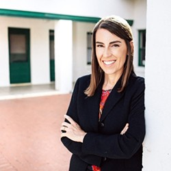 County Attorney candidate Laura Conover has a comfortable lead in the early returns.
