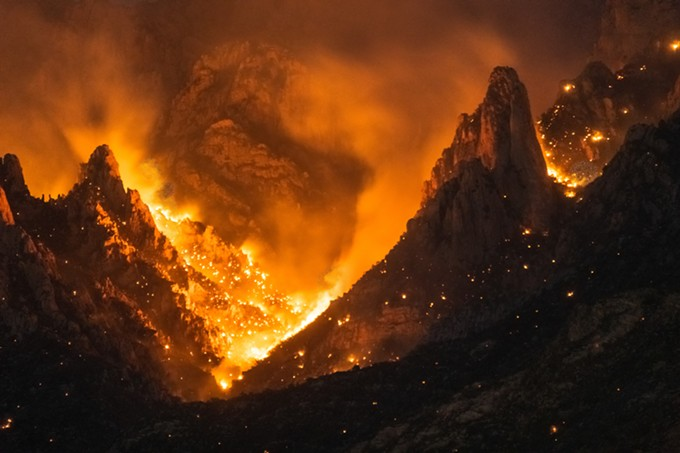 The Bighorn Fire has burned more than 17,000 acres since June 5. - ©PRESHIT AMBADE