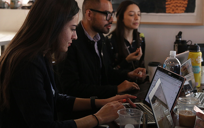 Officials with Aliento, a migrant advocacy group led by young people, say their Instagram following nearly doubled after the pandemic hit in March. - FILE PHOTO BY MIRANDA CYR/CRONKITE NEWS