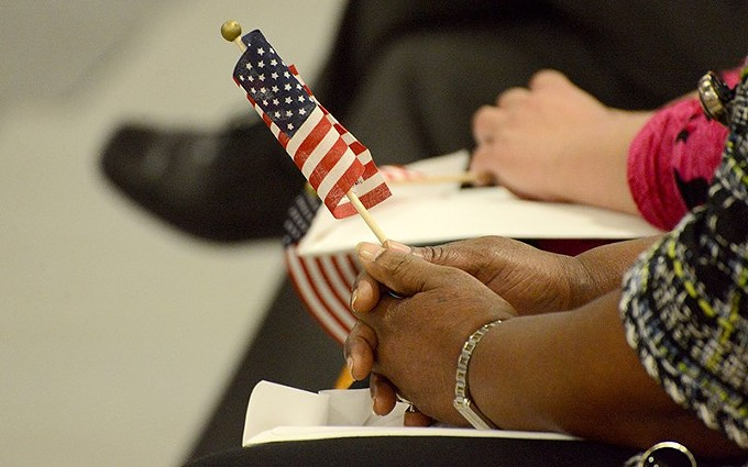 A federal court has temporarily blocked a steep increase in fees for such services as citizenship and asylum application that was set to take effect Friday. That's good news for migrants, but it poses a challenge for U.S. Citizenship and Immigration Services, which gets almost all its budget from fees for services. - PHOTO BY THE UNIVERSITY OF FINDLAY, CREATIVE COMMONS