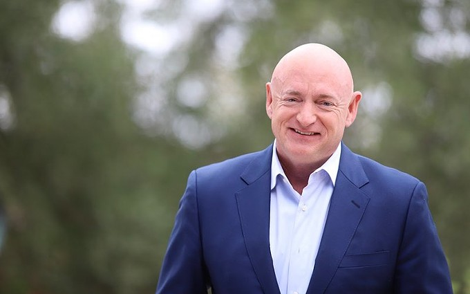 Mark Kelly, who's seeking public office for the first time, hopes to address COVID-19, race relations and the economy, among other issues, if elected over Republican incumbent Martha McSally in the 2020 election. - PHOTO COURTESY OF MARIA HURTADO/MARK KELLY FOR SENATE