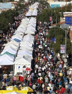 Fourth Avenue Street Fair during better days. - DANIEL MATLICK