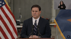 "Gov. Doug Ducey: ""I need Arizonans is to continue to do their part in slowing the spread of this virus."""