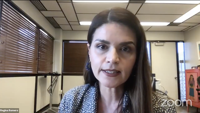 Mayor Regina Romero says she'll keep the mask mandate in place, but she doesn't expect police to ticket people who refuse to mask up. - TUCSON MAYOR REGINA ROMERO'S VIRTUAL PRESS CONFERENCE ON NOV. 30.