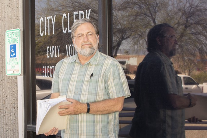 """Tucson City Council hopeful Kevin Dahl: """"We need aggressive adaptation and mitigation plans to deal with the disproportionate impact that climate will have on vulnerable communities."""" - DALE TURNER"""