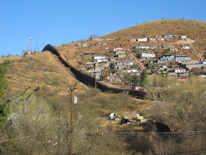 The U.S.-Mexico border near Nogales. - STEEVE HISE, CREATIVE COMMONS VIA ARIZONA MIRROR