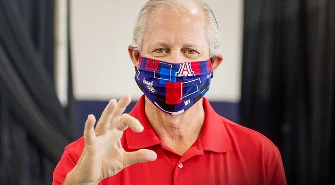"""UA President Dr. Robert Robbins: """"We recognize the challenges presented to all of us by the Delta variant, which is more contagious than the lineages of SARS-CoV-2 to that we dealt with last academic year, and which is now the dominant strain in the United States."""" - COURTESY UNIVERSITY OF ARIZONA"""