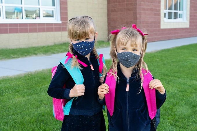 Keep those masks on, kids - BIGSTOCK