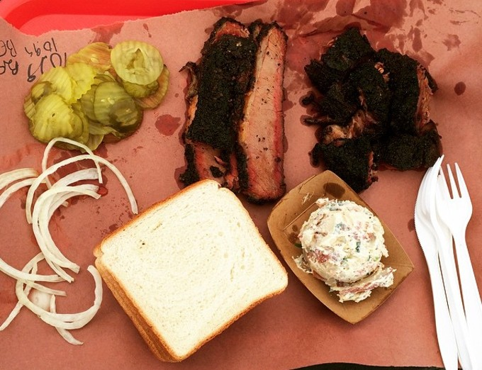 Brisket or bust, BBQers. - HEATHER HOCH