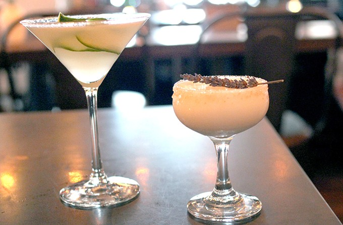 Amalour's bar focuses on classics, with a few new additions. - HEATHER HOCH