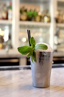Fragrant and simple, the Mint Julep offers a lot of flavor with few ingredients. - HEATHER HOCH