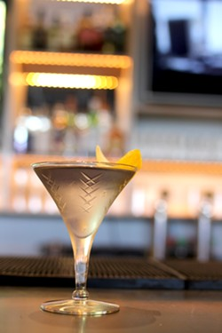 The Arsenic and Old Lace is floral, but straightforward—like a martini you'd want to sip in a garden. - HEATHER HOCH