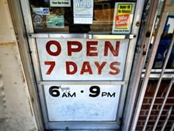 Front door, Catatina Market. - BRIAN SMITH