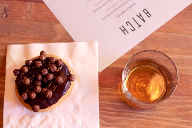 Donuts and whiskey are certainly the focal point of this new downtown spot. - HEATHER HOCH