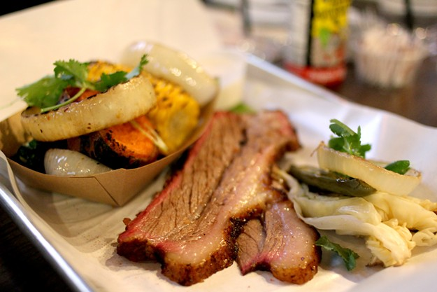 Red's Smokehouse on University sells barbecue and more with Tucson flare. - HEATHER HOCH