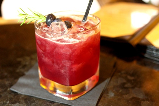Taste cocktails from some of the best bars in the state, including PY Steakhouse, this Sunday during Romo Tonight Live. - HEATHER HOCH