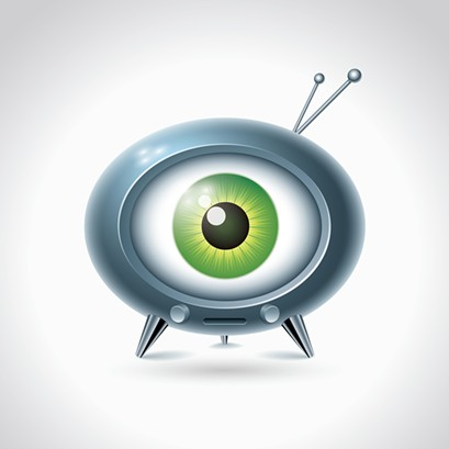 Uh oh, they turned Mike Wazowski into a television. - BIGSTOCK