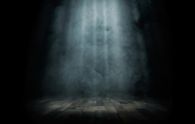 Maybe it's a stage, maybe it's a shower with a wooden floor. Who is to say? - BIGSTOCK