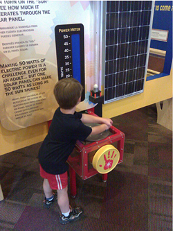Tucson Children's Museum Electri-City Exhibit