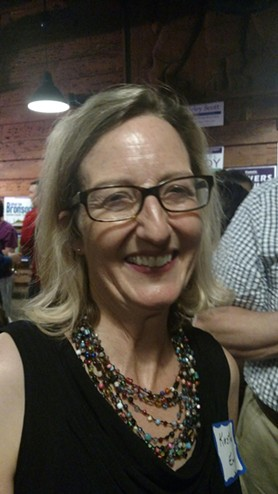 UA law prof Kirsten Engel wins the first round of her rookie run for office, but now faces Republican Todd Clodfelter in one of the most competitive districts in the state. - NICK MEYERS
