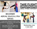 Beginner Aerial Silks & Lyra Series