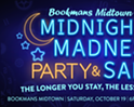 Midnight Madness Party & Sale!