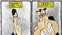 Claytoon of the Day: Beto Vs. Creepo