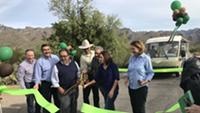 New, Quieter Tram Debuts in Sabino Canyon