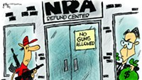 Claytoonz: Defund The NRA