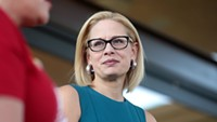 Alone among Democrats, Sinema stays silent on GOP Supreme Court push