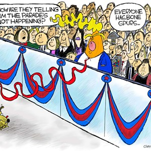 Claytoon of the Day: Parade Gets a Deferment