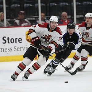 Tucson Roadrunners Blanked by Colorado Eagles, 2-0
