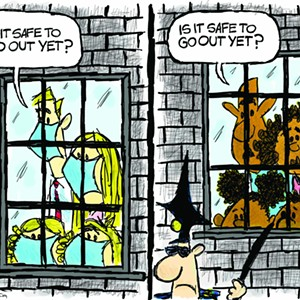 Claytoonz: Safe To Go Out?