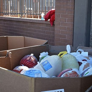 Food banks receive government assistance to fill bellies during the holidays