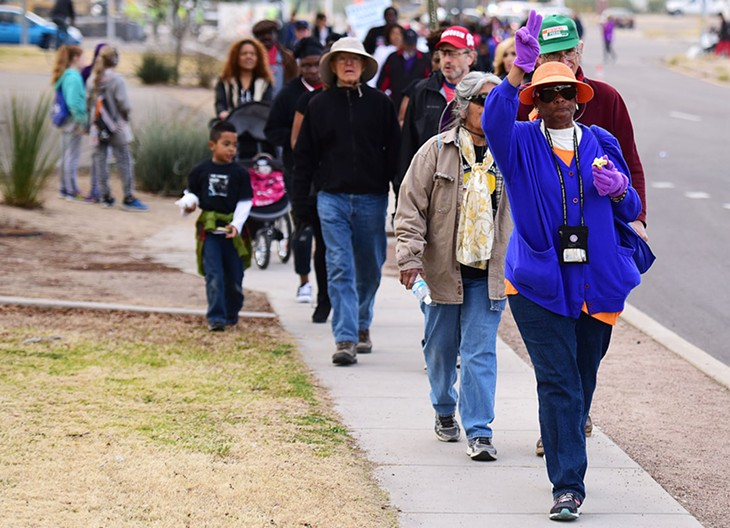 31st Annual Martin Luther King Jr. Day March and Festival