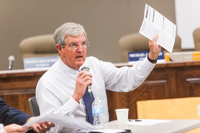 Pima County Administrator Chuck Huckelberry