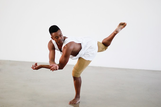 Artifact Dance Project's Marquez Johnson is one of three choreographers for this weekend's Intensive Showcase concert.