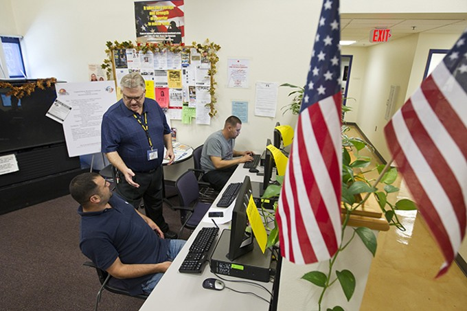Pima County is finding employment for homeless veterans by connecting them to job training, résumé building and work supplies.