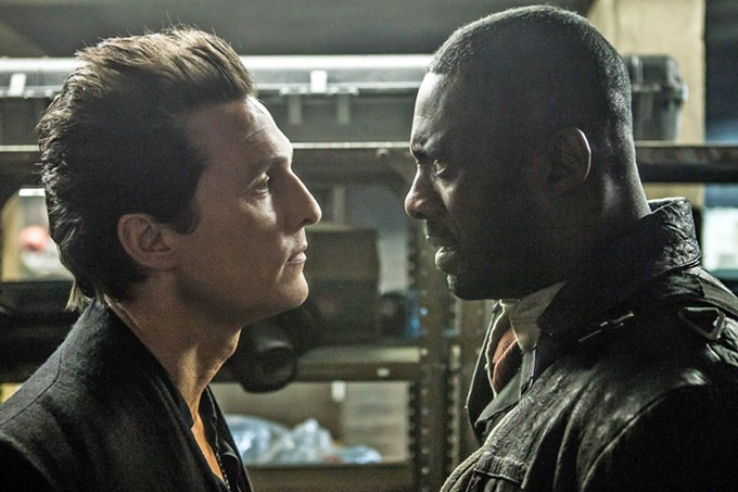 Guns and Poses: Mathew McConaughey and Idris Elba stumble around in The Dark Tower.