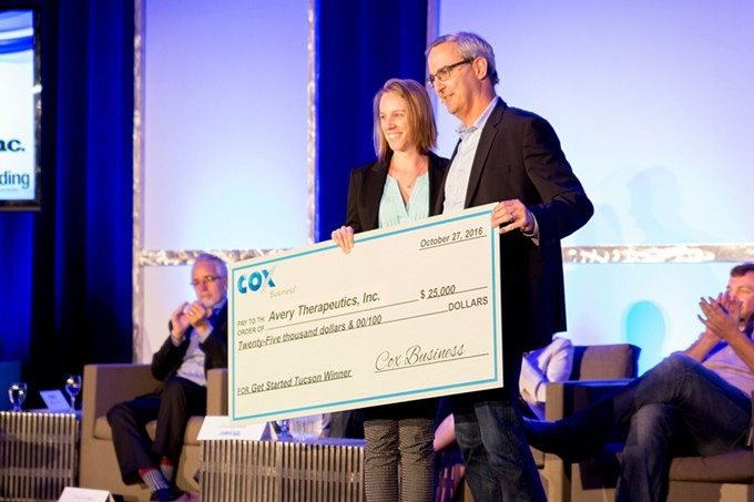 "Get Started Arizona participants are vying for the chance to walk away with a $25,000 check from Cox Business. The ""Shark Tank""-style event takes place later this month at TENWEST Festival, a week-long event mixing entrepreneurship, business, tech arts, and music"