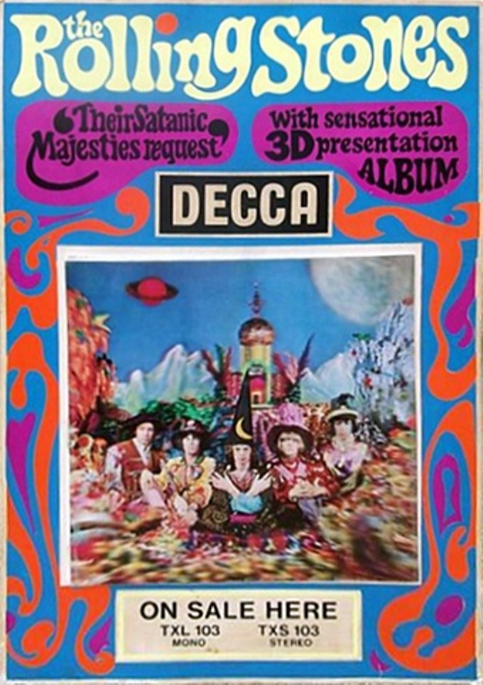 Most of Decca's ad copy focused on the three-dimensional art instead of the music, which sometimes fell flat.