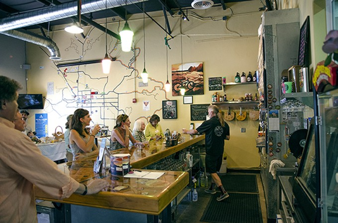 Catalina Brewing Company is just one of the stops on Marana's new Gastronomy Tour program.