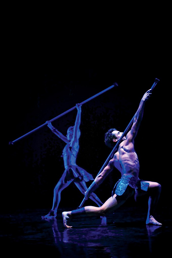 UA Dance Ensemble member Taylor Bradley in STYX by Michael Williams.